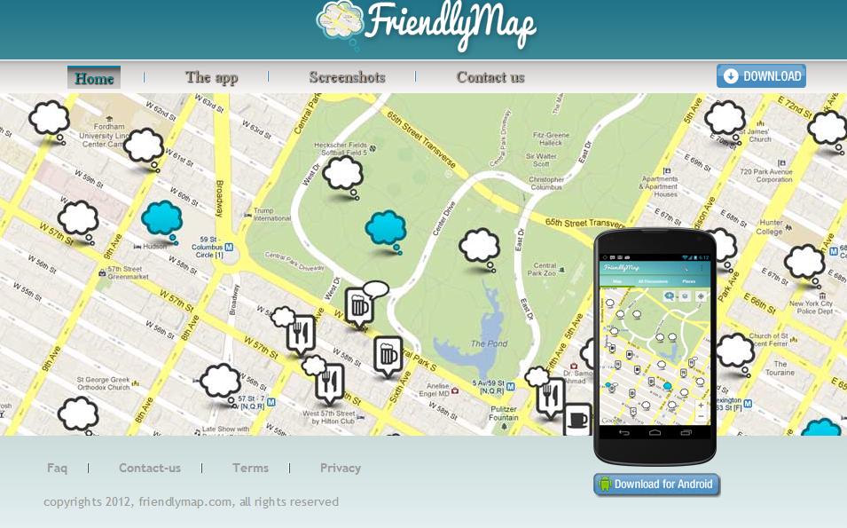 FriendlyMap