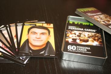 סט כרטיסיות פרסונות מבית Personaville