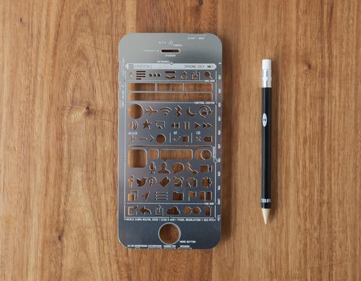 תבנית מתכת אייפון